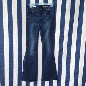 Gap Resolution Skinny Flare Jeans